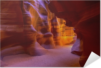 Antelope Canyon Arizona on Navajo land near Page Self-Adhesive Poster