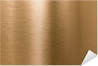 Bronze or copper metal texture background Self-Adhesive Poster