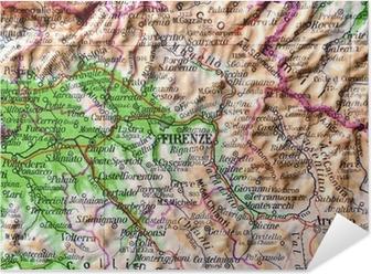 La Toscana Cartina Geografica.Cartina Geografica Della Toscana Firenze