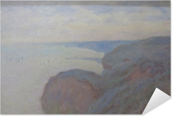 Claude Monet - Steef Cliffs near Dieppe Self-Adhesive Poster