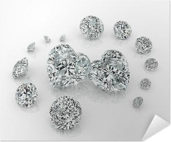 diamonds group Self-Adhesive Poster