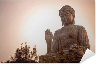 Giant Buddha Self-Adhesive Poster