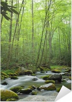 Jungle stream Self-Adhesive Poster