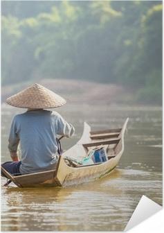 Lao people Self-Adhesive Poster