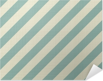 retro seamless geometric pattern Self-Adhesive Poster