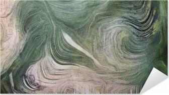 Shades of green Self-Adhesive Poster