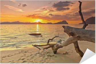 Sunset Self-Adhesive Poster