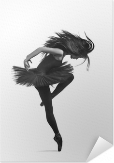 the dancer Self-Adhesive Poster