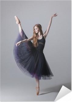 the dancer Self-Adhesive Poster
