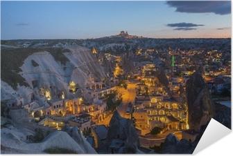 The landscape of Cappadocia , Turkey Self-Adhesive Poster