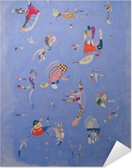 Wassily Kandinsky - Sky Blue Self-Adhesive Poster