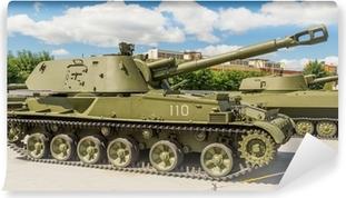 тяжелый танк экспонат военного музея Self-Adhesive Wall Mural
