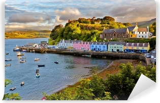 A view of the Scottish countryside Self-Adhesive Wall Mural