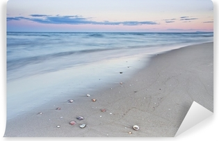 A walk on the beach Self-Adhesive Wall Mural