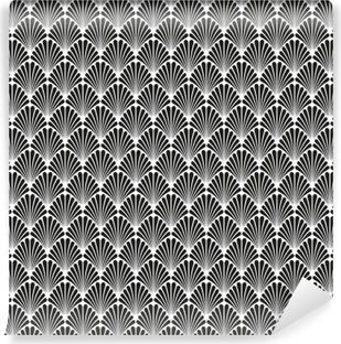 Abstract Seamless Art Deco Vector Pattern Texture Self-Adhesive Wall Mural