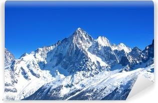 Aiguille Verte - Massif du Mont-Blanc (Haute-Savoie) Self-Adhesive Wall Mural
