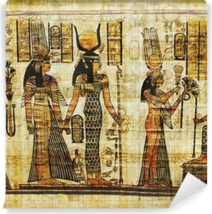 ancient egyptian parchment Self-Adhesive Wall Mural