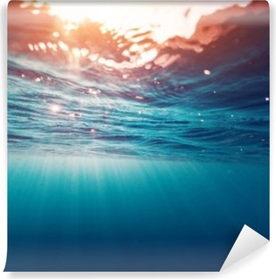 Blue sea Self-Adhesive Wall Mural
