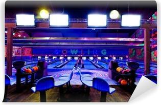 bowling center Self-Adhesive Wall Mural