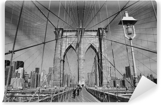 Brooklyn Bridge, New York Self-Adhesive Wall Mural