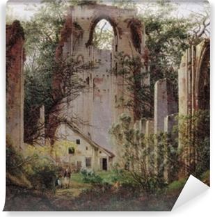 Caspar David Friedrich - Monastery ruin Eldena Self-Adhesive Wall Mural