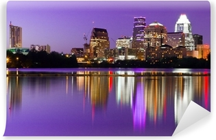 City Skyline - Austin, TX Self-Adhesive Wall Mural