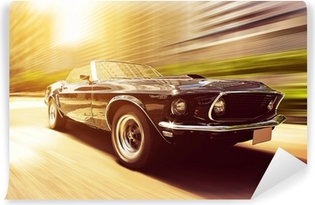 Classic Cabriolet Self-Adhesive Wall Mural