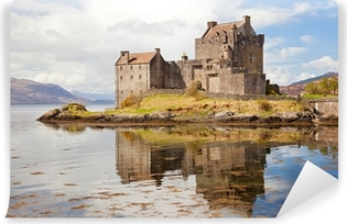Eilean Donan Castle Scotland Self-Adhesive Wall Mural