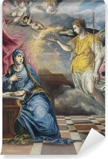 El Greco - The Annunciation Self-Adhesive Wall Mural