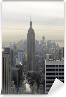 Empire State Building Self-Adhesive Wall Mural