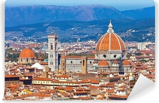 Florence Cityscape Self-Adhesive Wall Mural