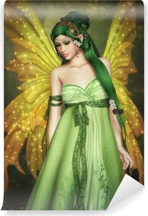 Forest Fairy Self-Adhesive Wall Mural