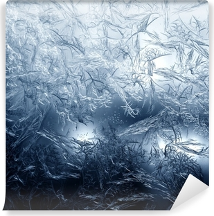 Frosty fine pattern of nature Self-Adhesive Wall Mural