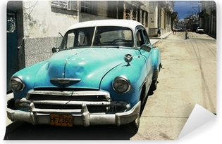havana street - cross process Self-Adhesive Wall Mural