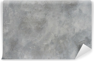 High resolution rough gray textured grunge concrete wall, Self-Adhesive Wall Mural