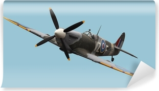 Isolated Spitfire Self-Adhesive Wall Mural