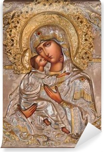 Jerusalem - Madonna in Russian orthodox Church of Mary of Magdalene Self-Adhesive Wall Mural