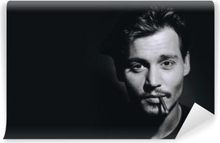 Johnny Depp Self-Adhesive Wall Mural