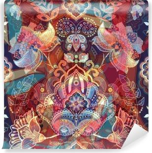Light colorful seamless pattern Self-Adhesive Wall Mural