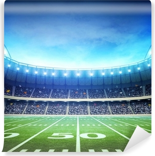 light of american stadium Self-Adhesive Wall Mural