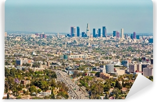 Los Angeles skyscrapers Self-Adhesive Wall Mural