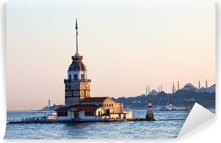 Maiden Tower in Istanbul Self-Adhesive Wall Mural