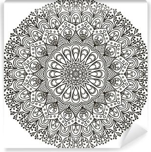 Mandala. Ethnic decorative elements. Self-Adhesive Wall Mural