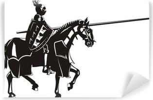 medieval knight Self-Adhesive Wall Mural