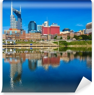 Nashville Tennessee Self-Adhesive Wall Mural