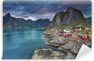 Norway. Self-Adhesive Wall Mural