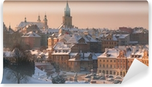Panorama of Lublin Self-Adhesive Wall Mural