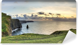 Panoramic sunset view, Ireland Self-Adhesive Wall Mural