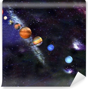 Parade of the planets Self-Adhesive Wall Mural