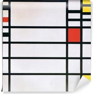 Piet Mondrian - Trafalgar Square Self-Adhesive Wall Mural